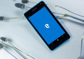 Microsoft Edge Windows 10 Mobile