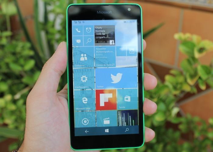 Opciones de personalización en Windows 10 Mobile