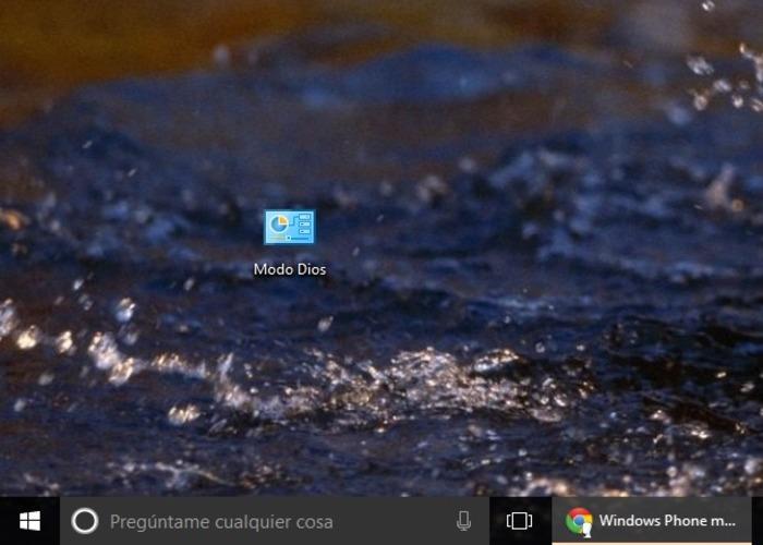 Windows 10 Modo Dios cabecera