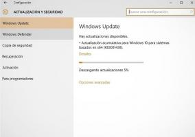Windows 10 actualización KB3081438