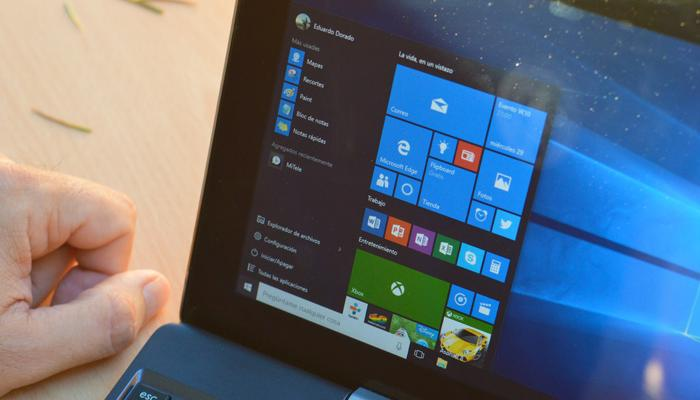 Windows 10 menu inicio