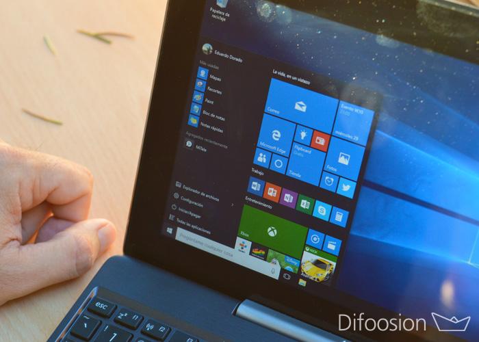 Windows 10 menu inicio