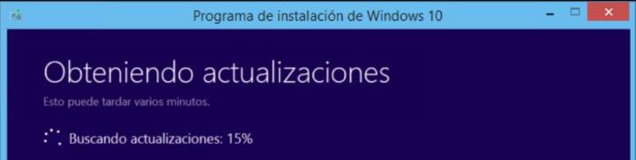 buscar actualizaciones actualizar a windows 10