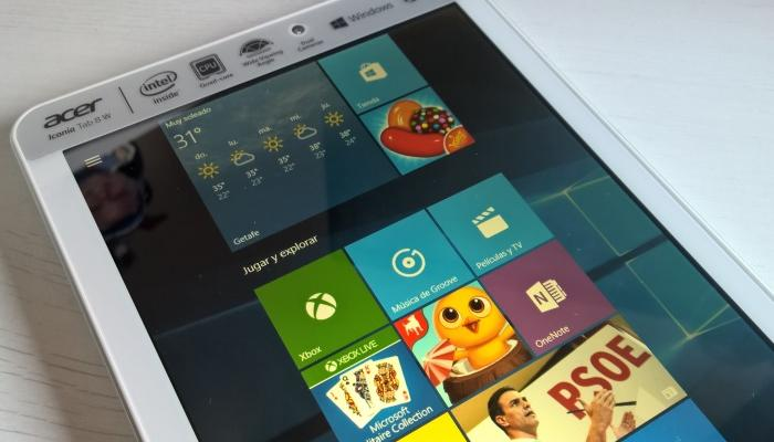 windows 10 tabletas
