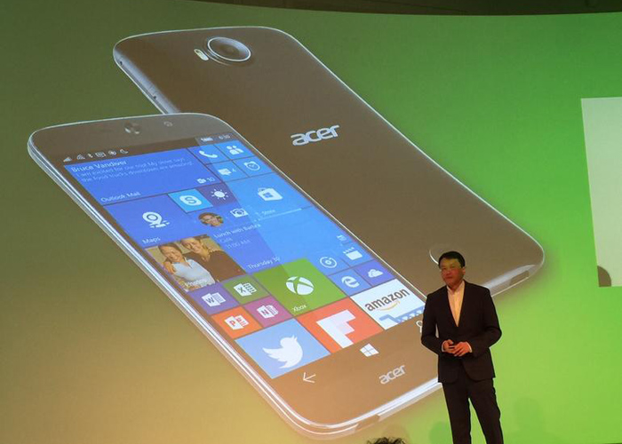 Acer Jade Primo Windows 10 Mobile