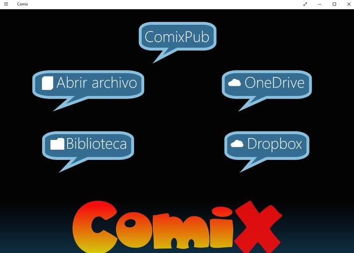 Comix app del dia windows 10