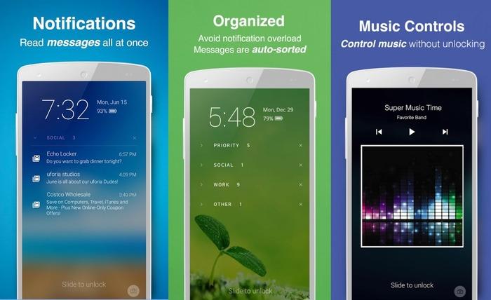 Echo Notification Lockscreen Android