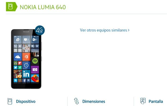 Lumia 640 argentina