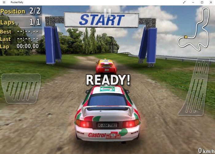 Pocket Rally capturas
