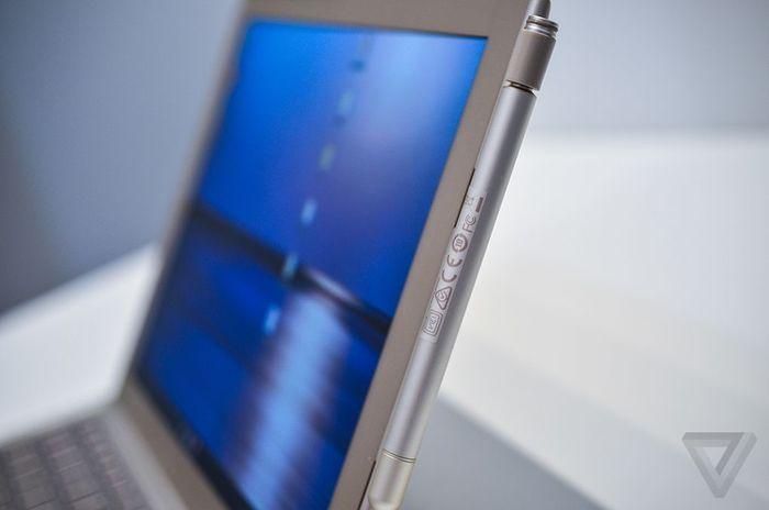 Toshiba prototipo tableta stylus
