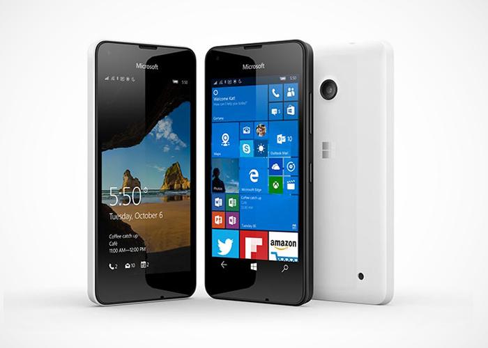 Lumia 550 oficial