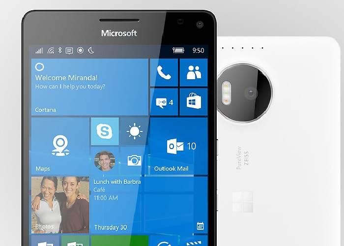 Lumia-950-XL frontal