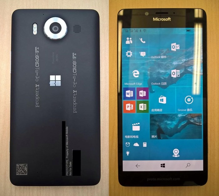 Lumia 950 imágenes reales