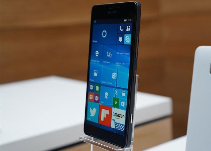 Microsoft Lumia 950 cabecera