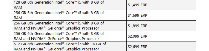 Precios Surface Book de Microsoft
