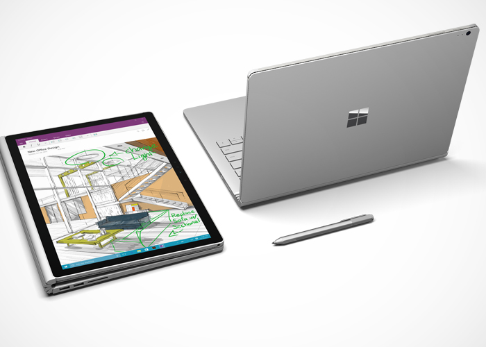 Surface Book convertible