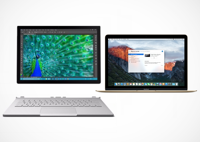 Surface Book vs Macbook Air y Pro de Apple, la comparativa ...