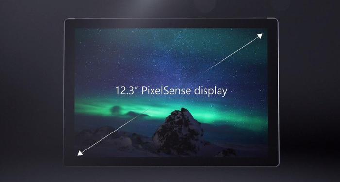 Surface Pro 4 pantalla