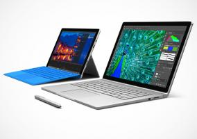 Surface Pro 4 vs Surface Book, comparativa