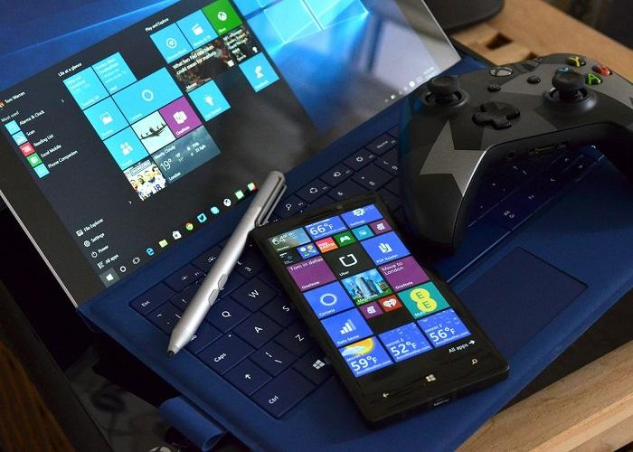 Windows 10 Surface Mobile Xbox One
