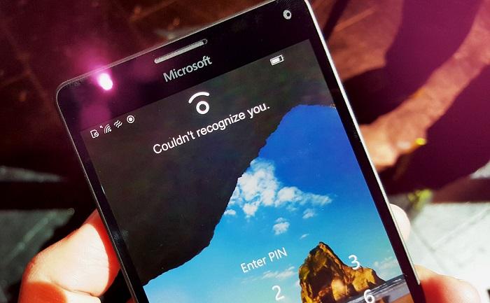 escaner de iris lumia 950 950xl windows 10 mobile