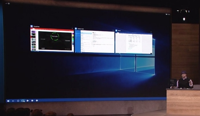evento microsoft continuum windows 10 mobile task view bryan rober