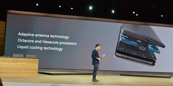 microsoft lumia 950 950 xl liquid cooling technology