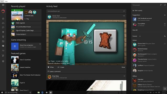 xbox beta app build 10576 windows 10
