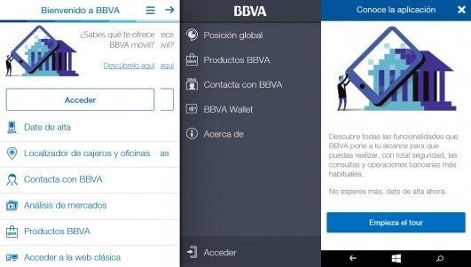 BBVA Windows Phone