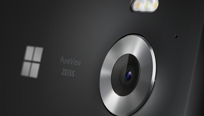 Cámara Lumia 950