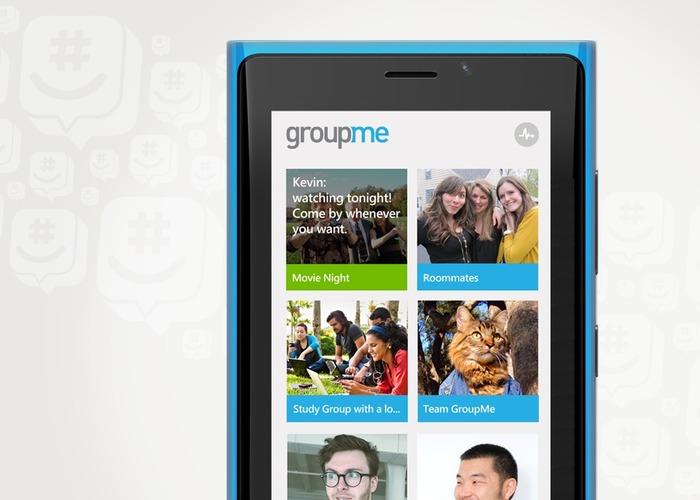 GroupMe Windows Phone