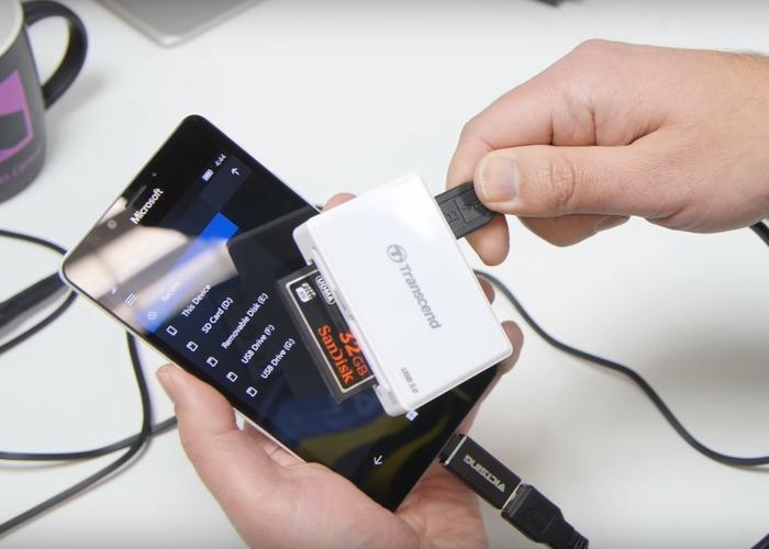 Lumia 950 USB OTG