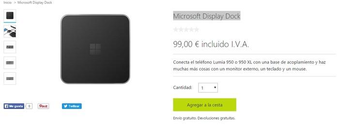 Microsoft Display Port España