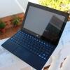 Parte frontal tableta y teclado energy tablet