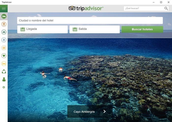 TripAdvisor Hotels Flights Restaurants cabecera