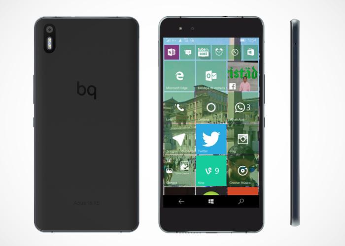 bq Aquaris X5 Windows 10 Mobile