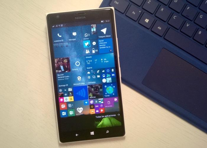 windows 10 mobile lumia 1520