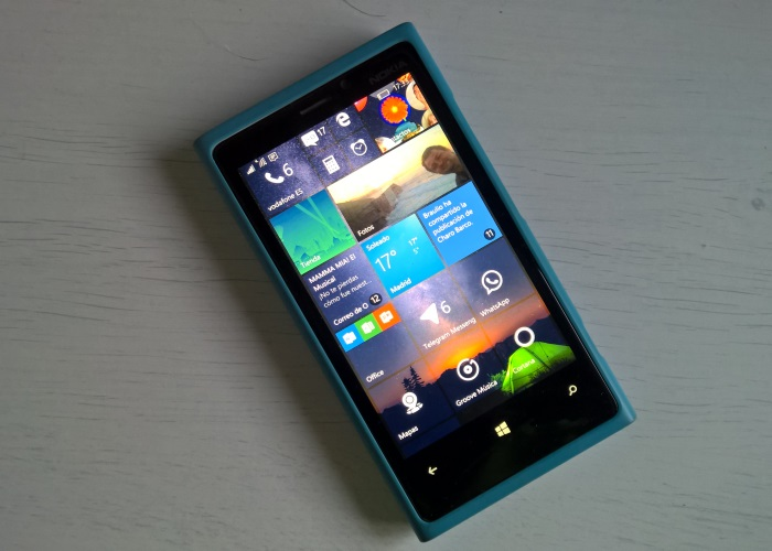 windows 10 mobile lumia 920