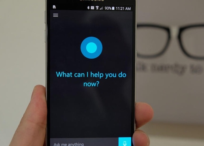 Android Cortana captura