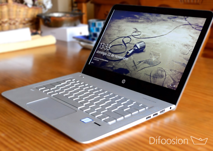 HP Envy 13 frontal