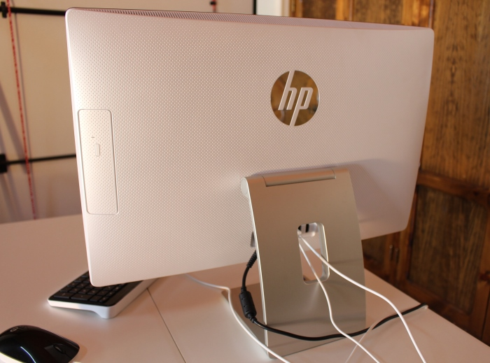 Parte trasera All in One HP 23