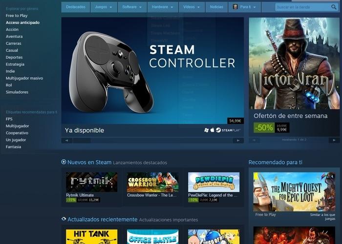 Steam dejará de dar soporte a Windows XP y Vista el próximo año
