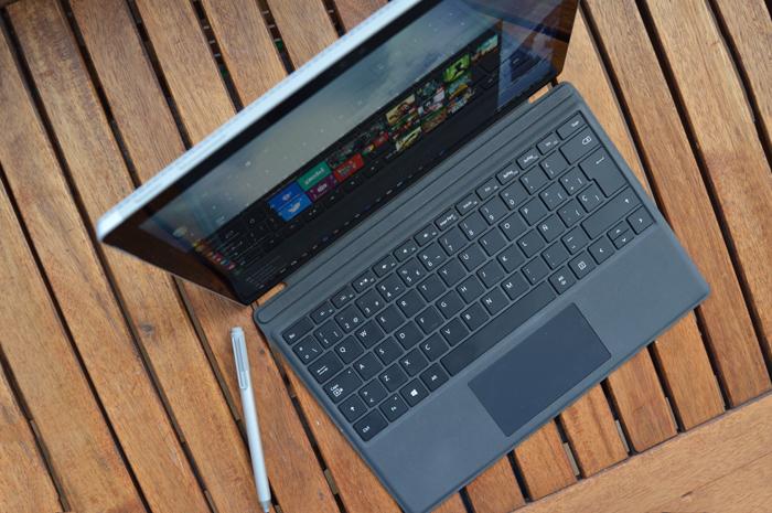 Surface Pro 4 teclado
