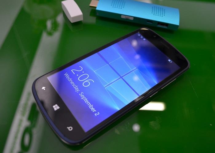 Archos Cesium 50 Windows 10 Mobile