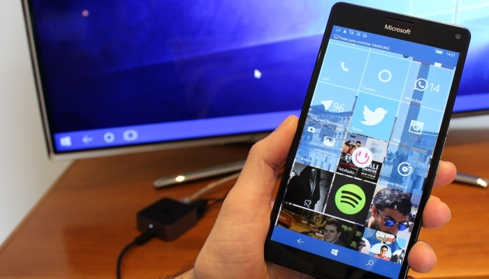 Principal funcionalidad de Windows 10 Mobile