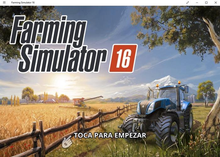 Farming Simulator 16 cabecera