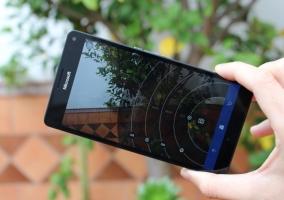 Aplicación de cámara en Windows 10 Mobile