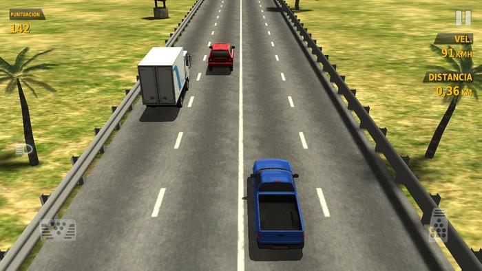 Traffic Racer captura 1