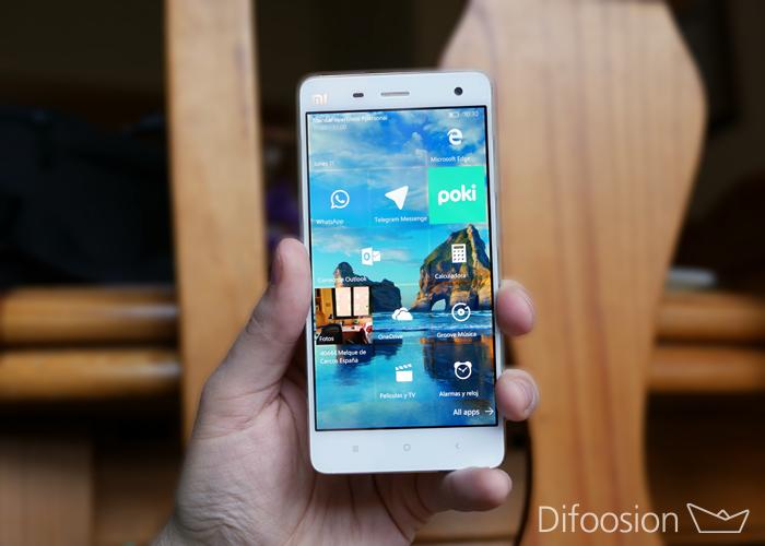 Xiaomi Mi 4G windows 10 Mobile