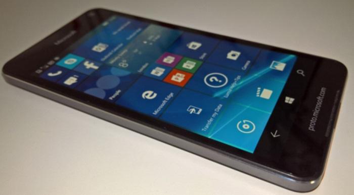 imagen lumia 650 prototipo